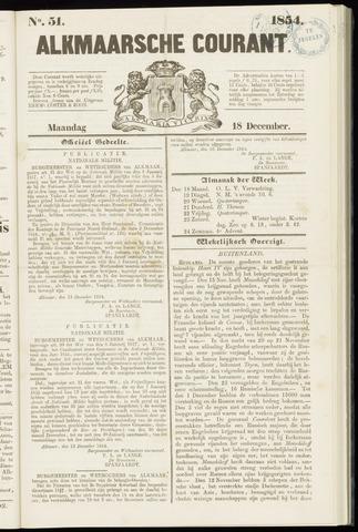 Alkmaarsche Courant 1854-12-18