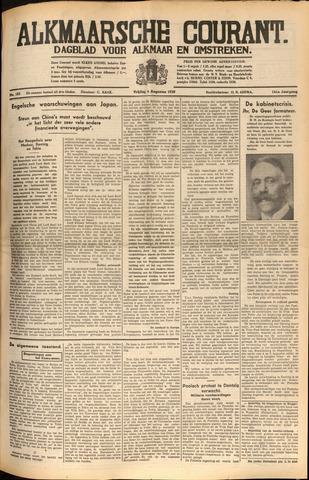 Alkmaarsche Courant 1939-08-04