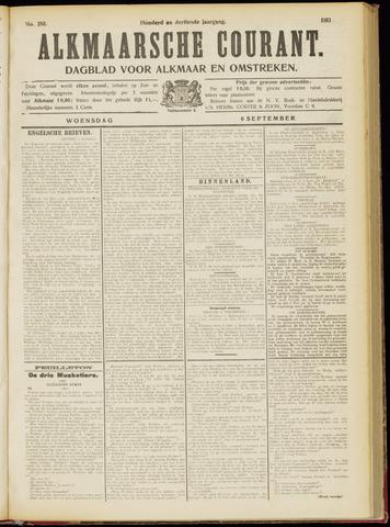 Alkmaarsche Courant 1911-09-06