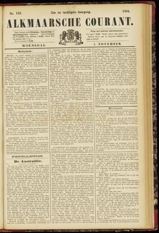 Alkmaarsche Courant 1884-11-05