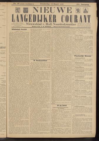 Nieuwe Langedijker Courant 1928-03-29