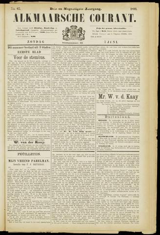 Alkmaarsche Courant 1891-06-07