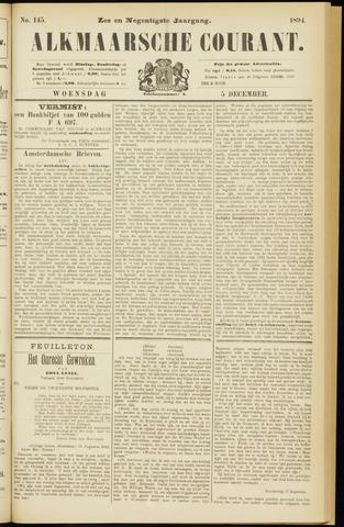 Alkmaarsche Courant 1894-12-05