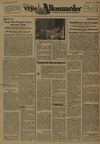 De Vrije Alkmaarder 1947-07-07
