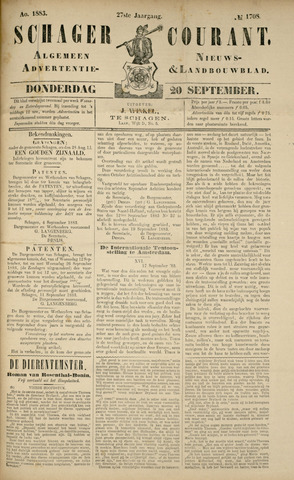 Schager Courant 1883-09-20
