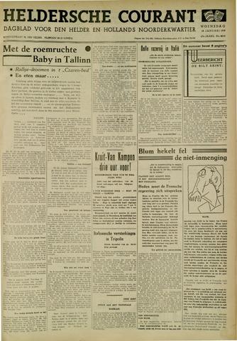 Heldersche Courant 1939-01-18