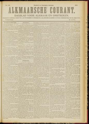 Alkmaarsche Courant 1918-06-21