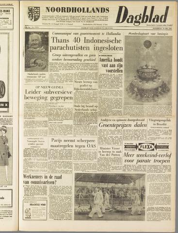 Noordhollands Dagblad : dagblad voor Alkmaar en omgeving 1962-05-10