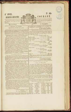 Alkmaarsche Courant 1845-11-03