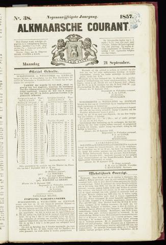 Alkmaarsche Courant 1857-09-21