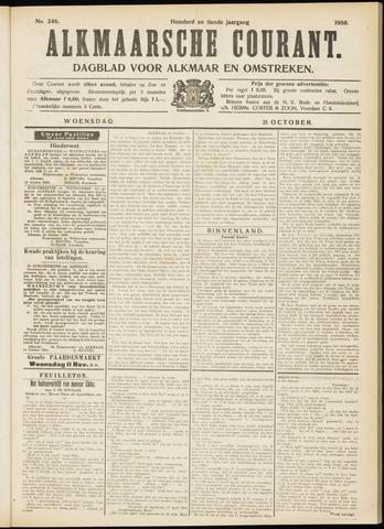Alkmaarsche Courant 1908-10-21