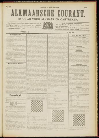 Alkmaarsche Courant 1909-06-18