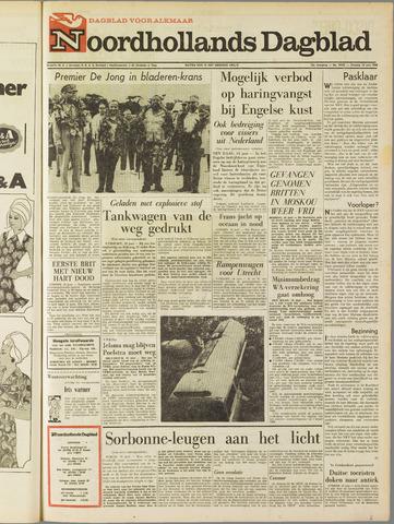 Noordhollands Dagblad : dagblad voor Alkmaar en omgeving 1968-06-18