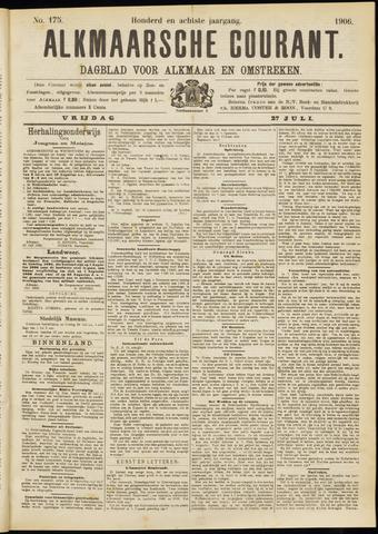 Alkmaarsche Courant 1906-07-27