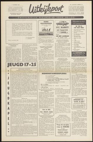 Uitkijkpost : nieuwsblad voor Heiloo e.o. 1968-09-05