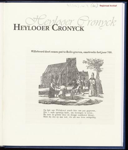 Heylooer Cronyck 2010-12-01