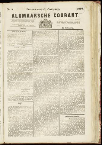 Alkmaarsche Courant 1865-02-19