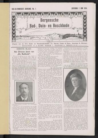 Bergensche bad-, duin- en boschbode 1934-06-02