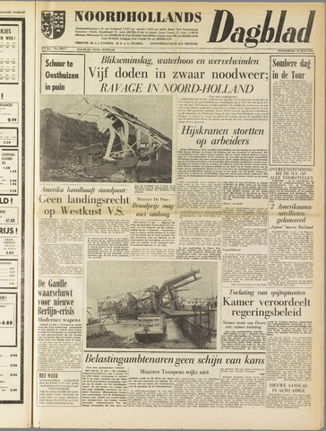 Noordhollands Dagblad : dagblad voor Alkmaar en omgeving 1961-07-13