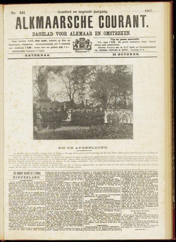 Alkmaarsche Courant 1907-10-12