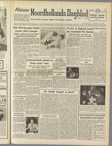 Nieuw Noordhollandsch Dagblad : voor Alkmaar en omgeving 1951-01-05