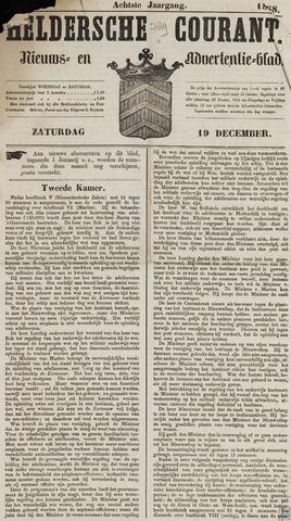 Heldersche Courant 1868-12-19