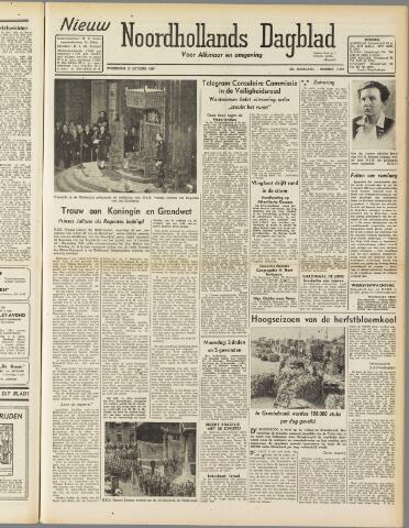 Nieuw Noordhollandsch Dagblad : voor Alkmaar en omgeving 1947-10-15