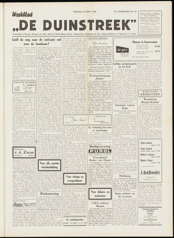 De Duinstreek 1958-09-19