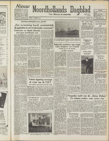 Nieuw Noordhollandsch Dagblad : voor Alkmaar en omgeving 1947-12-09