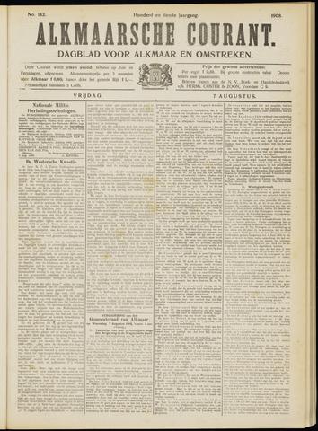 Alkmaarsche Courant 1908-08-07