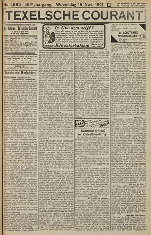 Texelsche Courant 1931-11-18