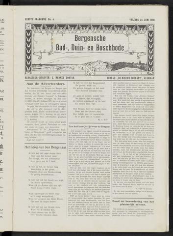 Bergensche bad-, duin- en boschbode 1910-06-24