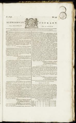 Alkmaarsche Courant 1836-04-18