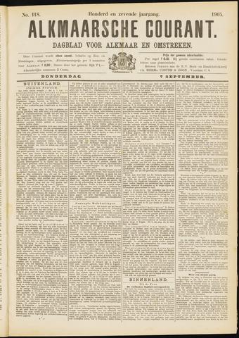 Alkmaarsche Courant 1905-09-07
