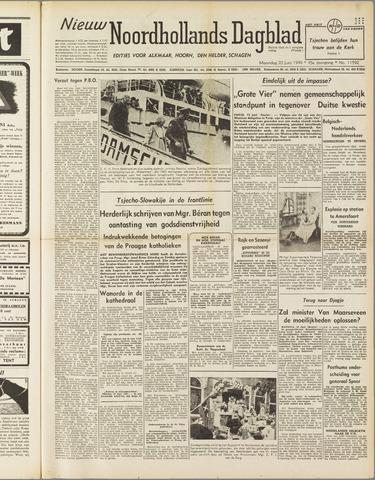 Nieuw Noordhollandsch Dagblad : voor Alkmaar en omgeving 1949-06-20