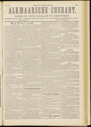 Alkmaarsche Courant 1914-11-23