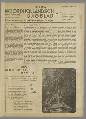 Nieuw Noordhollandsch Dagblad : voor Alkmaar en omgeving 1945-05-23