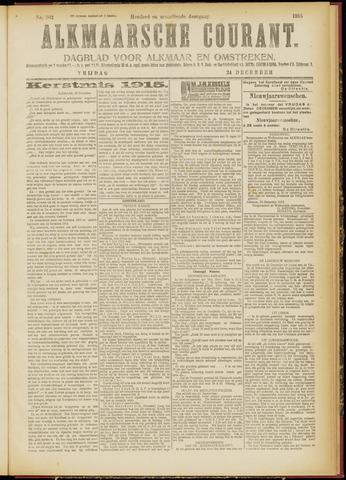 Alkmaarsche Courant 1915-12-24