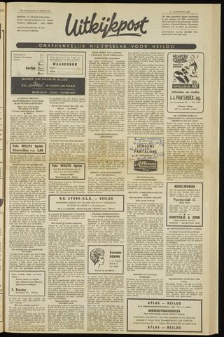 Uitkijkpost : nieuwsblad voor Heiloo e.o. 1961-08-24
