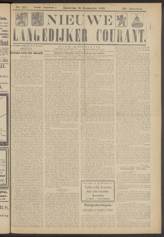 Nieuwe Langedijker Courant 1920-12-18