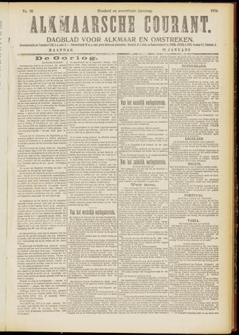 Alkmaarsche Courant 1915-01-25
