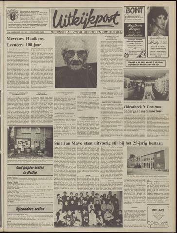 Uitkijkpost : nieuwsblad voor Heiloo e.o. 1985-10-02