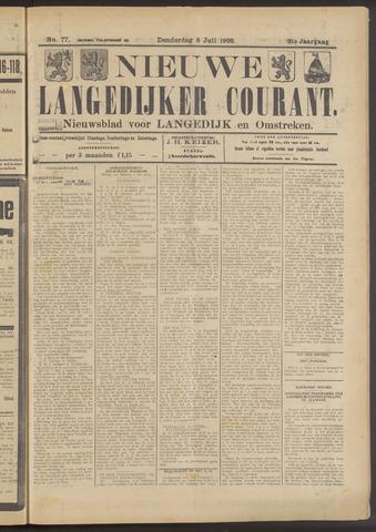 Nieuwe Langedijker Courant 1922-07-06