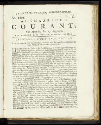 Alkmaarsche Courant 1801-08-17