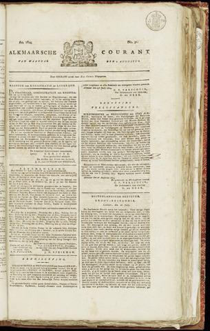 Alkmaarsche Courant 1824-08-02