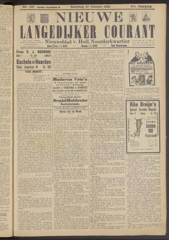 Nieuwe Langedijker Courant 1928-10-27