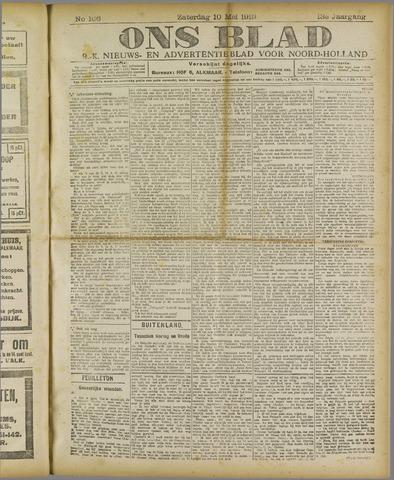 Ons Blad : katholiek nieuwsblad voor N-H 1919-05-10