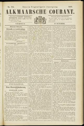 Alkmaarsche Courant 1889-10-18