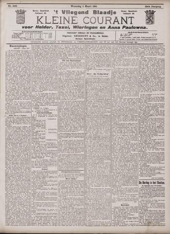 Vliegend blaadje : nieuws- en advertentiebode voor Den Helder 1904-03-02