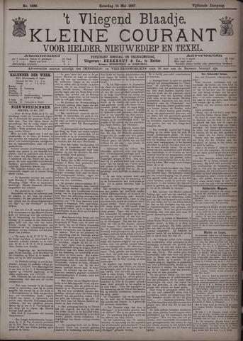 Vliegend blaadje : nieuws- en advertentiebode voor Den Helder 1887-05-14